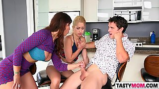 Teens got in trouble with hot mom Syren Demer